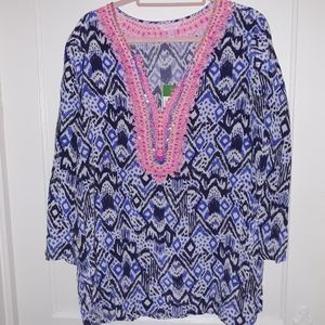 Lilly Pulitzer Renato Dinner Tunic